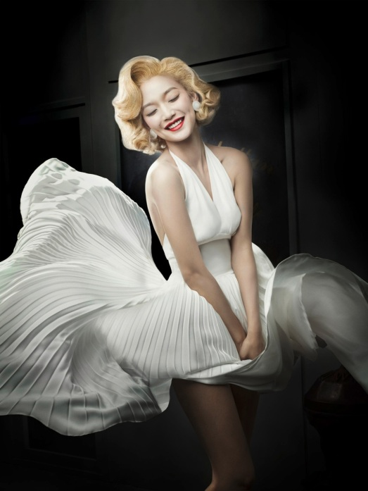 as marilyn monroe in the seven year itch